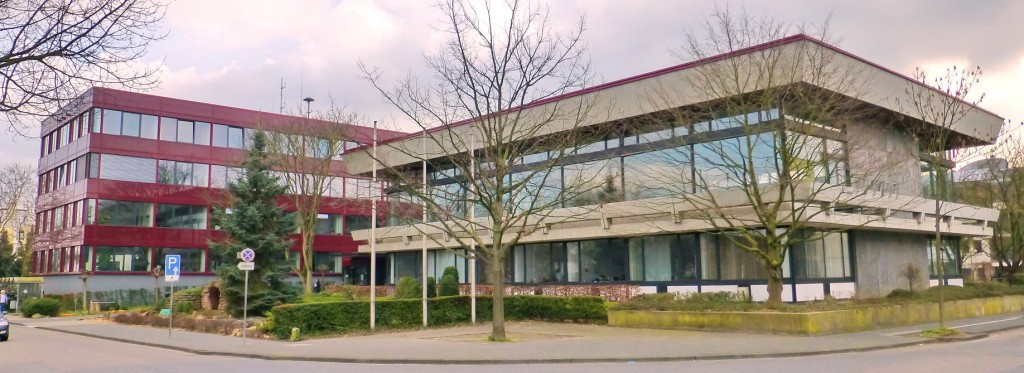 Sitzungstrakt am Rathaus der Stadt Bornheim