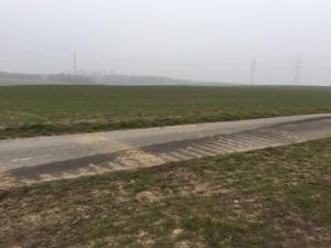 Nähe Wasserwerk WBV in Widdig (Wasserwerk nicht sichtbar hinter dichten Hecken)